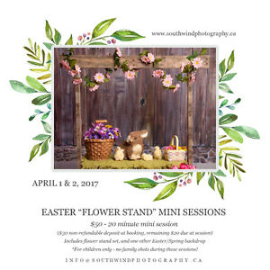 FLOWER STAND Easter Mini Sessions