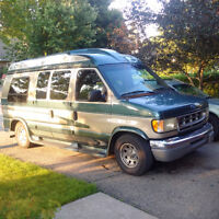 1997 Ford E-150 Starcraft Converstion Van Leather Interior