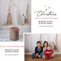 Christmas Photography sessions