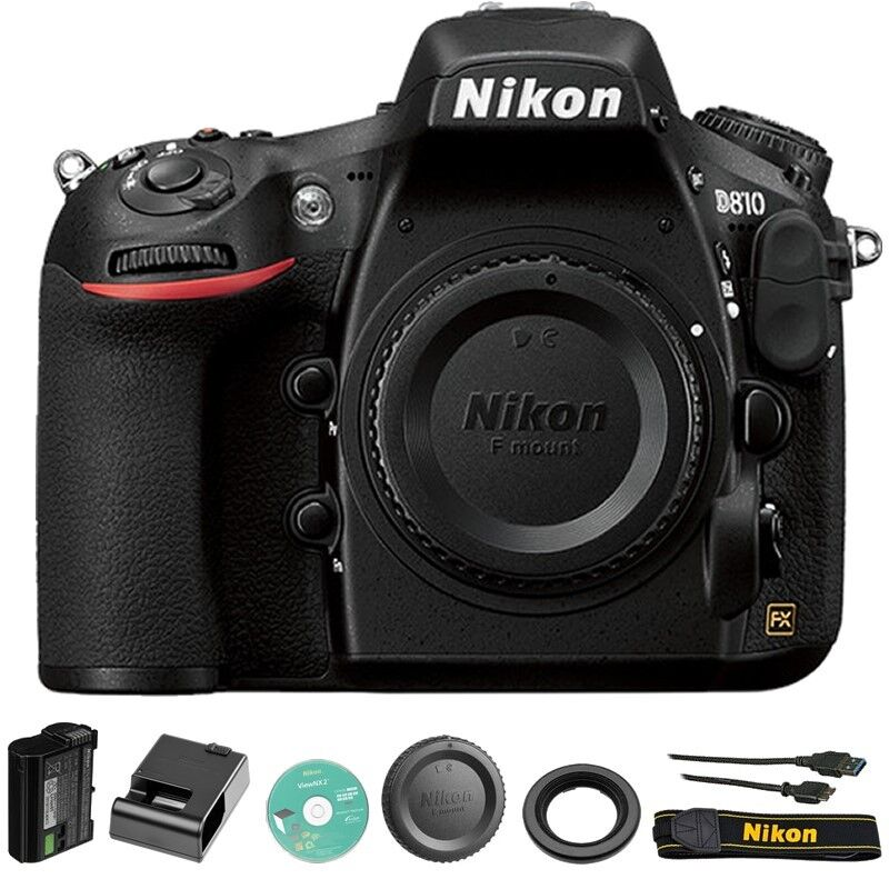 Nikon D810 36.3 Mp Fx-format Full Hd 1080p Video Digital Slr Camera Body