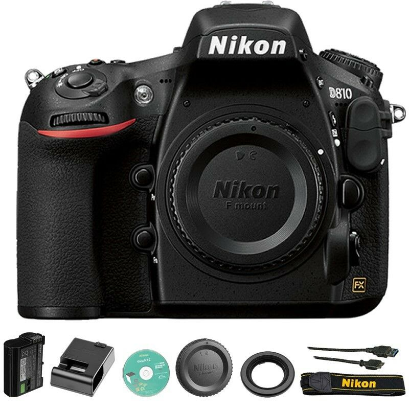 $2064.99 - Nikon D810 Digital SLR / DSLR Camera Body Only