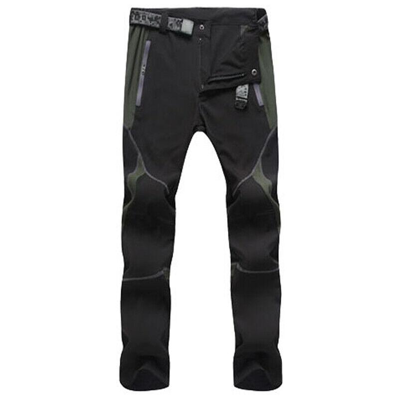 Mens Tactical Hiking Walking Cargo Combat Casual Long Pants Bottoms