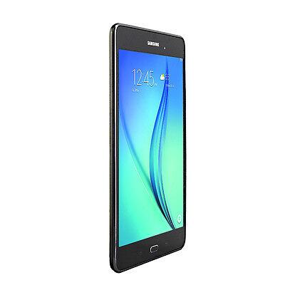 """Tablet - Samsung Galaxy Tab A 8.0"""" Wi-Fi 16GB SM-T350NZASXAR Smoky Titanium w/ Pouch"""