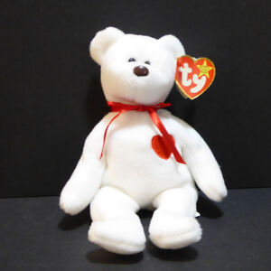 """VINTAGE """"VALENTINO"""" TY BEANIE BABY - NEVER USED/MINT"""