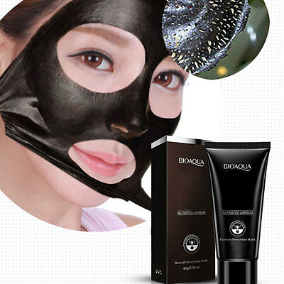 Black Mud Deep Cleansing Pilaten Blackhead Remover Purifying Peel Face Mask HOT