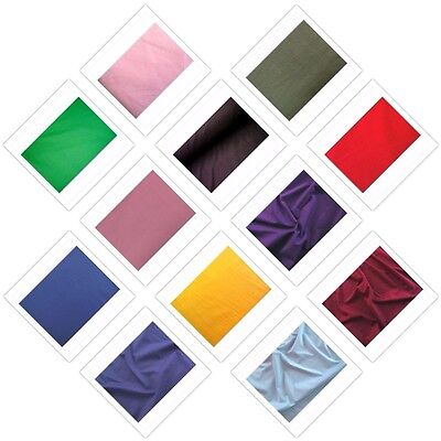 7 Ounce Cotton Jersey Lycra Spandex Knit Stretch T Shirt Fabric 36 Colors  ()