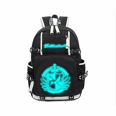 Boys Girls School Bag Dangan Ronpa danganronpa Luminous Backpack Shoulder Design