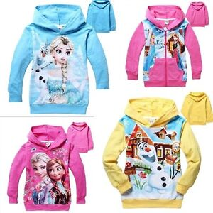 Frozen movie,Snow Queen Elsa,Princess Anna,Olaf, HOODIES Regina Regina Area image 8