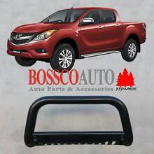 Mazda BT-50 Low Black Nudge Bar with Skid Plate (#9840 + #9793B) Prestons Liverpool Area Preview
