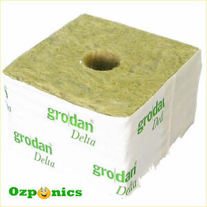 GRODAN-WRAPPED-ROCKWOOL-PROPAGATION-CUBE-HYDROPONICS-PLANT-GROWING-MEDIUM