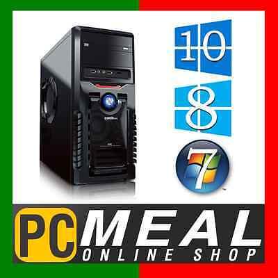 INTEL Core i3 7100 3.9GHz DESKTOP COMPUTER 8GB DDR4 1TB HDD HDMI Dual Gaming PC