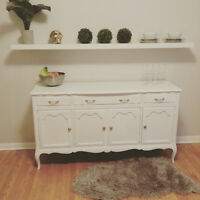 SHABBY  CHIC BUFFET/ SIDE TABLE/ TV STAND