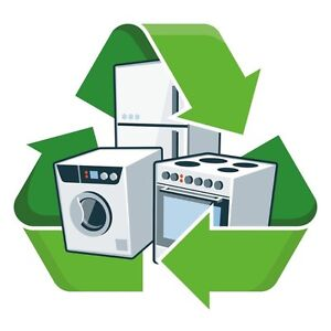 FREE~PICKUP~REMOVAL~DISPOSAL~RECYCLING~USED OLD METAL APPLIANCES