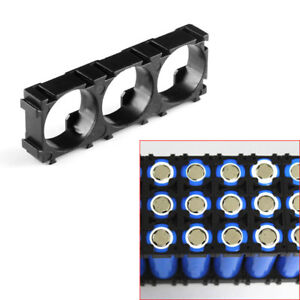 14pcs 3X Cell Plastic 18650 Battery Spacer Holder Radiating Cell