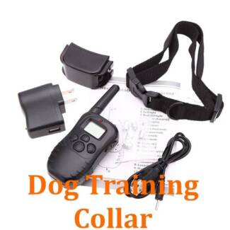 Rechargeable Remote Training Collar Anti Barking Bark Dog NEW