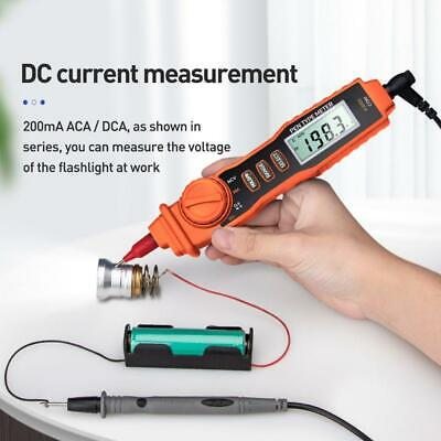 A3002 Digital Multimeter Pen Type 4000 Counts With Non-contact Acdc Tester Tool