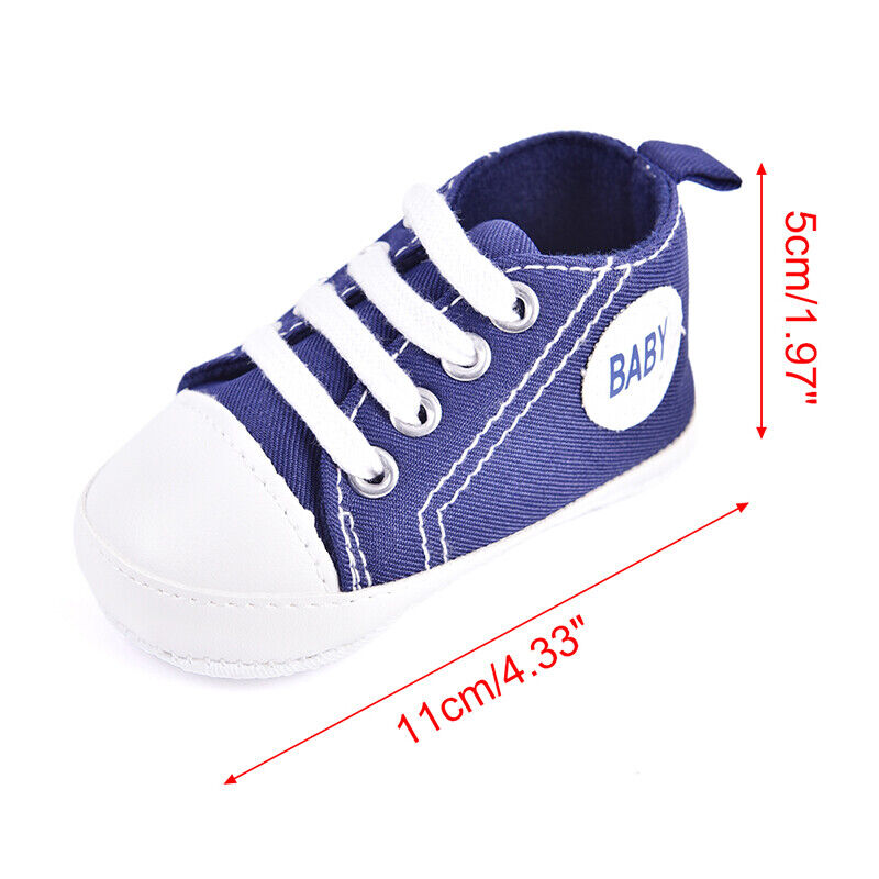 Toddler Baby 20 Sole Crib Infant Sneakers_