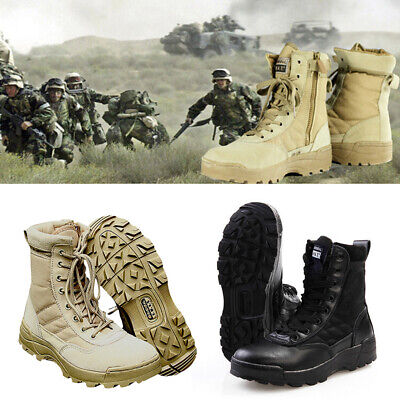 Forced Tactical Entry Boots Leather Military SWAT Duty Work