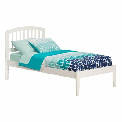 Atlantic Furniture Richmond Twin XL Open Foot White