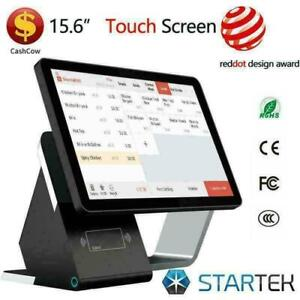 WOW ! POS TOUCH ELECTRONIC CASHIER SYSTEM -NEW- POINT OF SALE  FULLY EQUIPED - FREE SHIPPING- 1 Y GUARANTEE