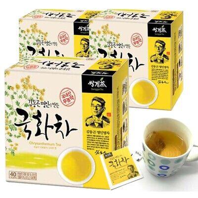 Kim Dong Gon Tea Master made Organic Chrysanthemum Tea (40T x 3 Box) 120 Tea bag
