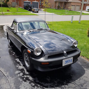 1979 limited edition MGB