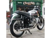 1955 BSA Gold Star 350 Classic Vintage Rare, Fitted Amal + GP Carb, Easy Starter