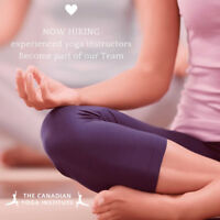 Now Hiring Certified Experienced Yoga Instructors