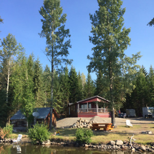 Waterfront lot on Deka Lake In the Cariboo