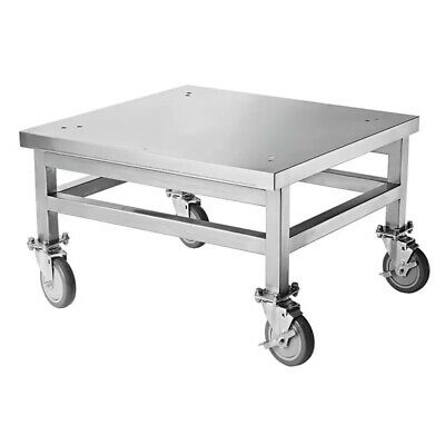 Turbochef Ngc-1217-2 18 Stainless Steel Rolling Oven Cart With Locking Casters