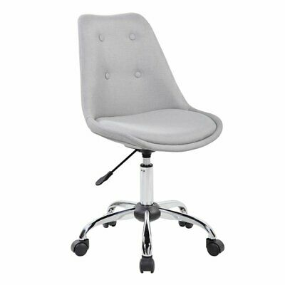 Scranton Co Armless Desk Chair In Gray
