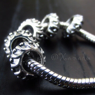 Charms For Bracelets Wholesale (10PCs Wholesale European Beads - Spacer Beads For All European Charm)