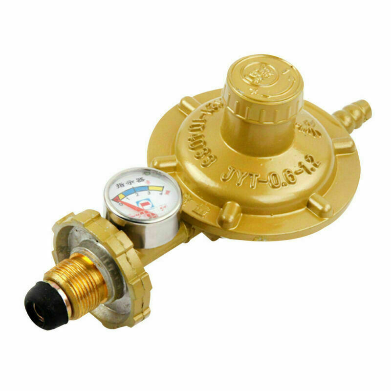Propane Gas Release Valve Regulator Pressure Gauge Explosion-proof Adjustable