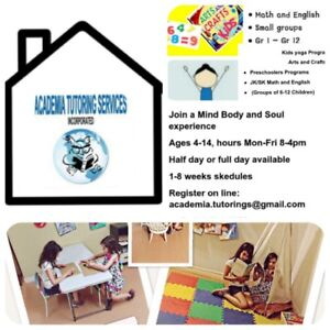 Space for rent childrens day time activities