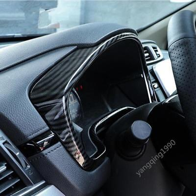 Carbon fiber look Console Dash Panel Frame Trim FOR HONDA CR-V CRV 2017 - Carbon Fiber Look Dash