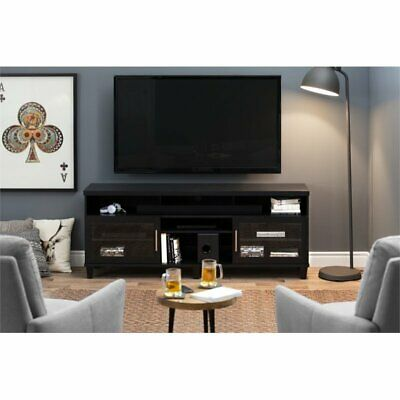 South Shore 10563  Adrian Tv Stand For Tvs Up To 75In, Black