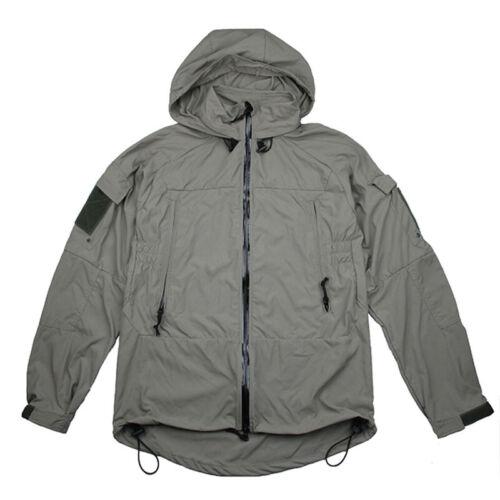 TMC3229 PCU L5 Tactical Wind Coat Jacket W/Cordura Nylon Soft Shell Zipper Coat