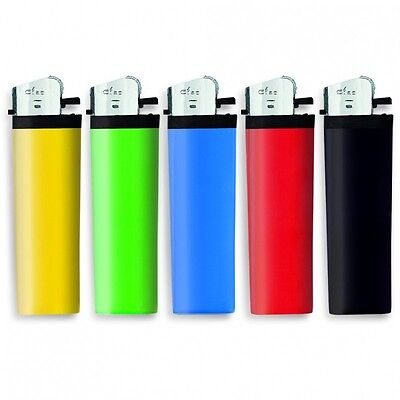 100 Accendini Economici CIAO colorati accendino vari colori 2 confezioni