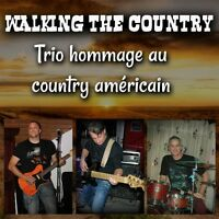 WALKING THE COUNTRY Band Country Pour tout vos événements !!!