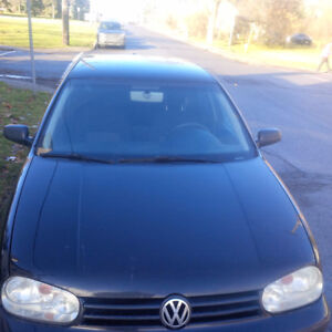 2007 Volkswagen Golf Safetied and Etested Hatchback