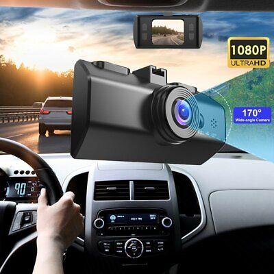 Vehicle Camera 1080P HD Car DVR Dash Cam Video Recorder G-Sensor Night Vision