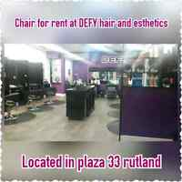 Experienced stylist and chair renter both needed