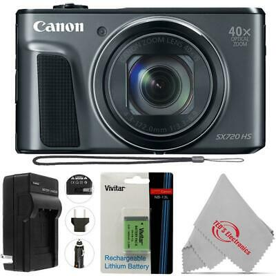 Canon PowerShot SX720 HS (BLACK) 23.3MP Digital Camera