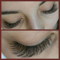 Registrated Quality Lash extensions FULL set 85$(taxes included)