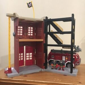 Fisher Price Imaginext Fire Station Set