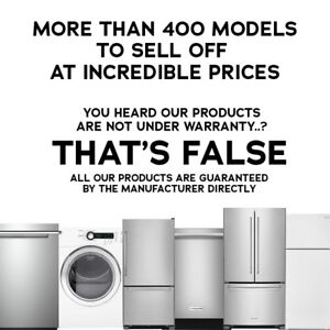 HUGE CLEARANCE OF WHIRLPOOL APPLIANCES!