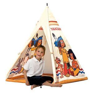 YAKARI Tipi Zelt Spielzelt Kinderzelt Indianerzelt Zelt, tepee, tent, kids tent