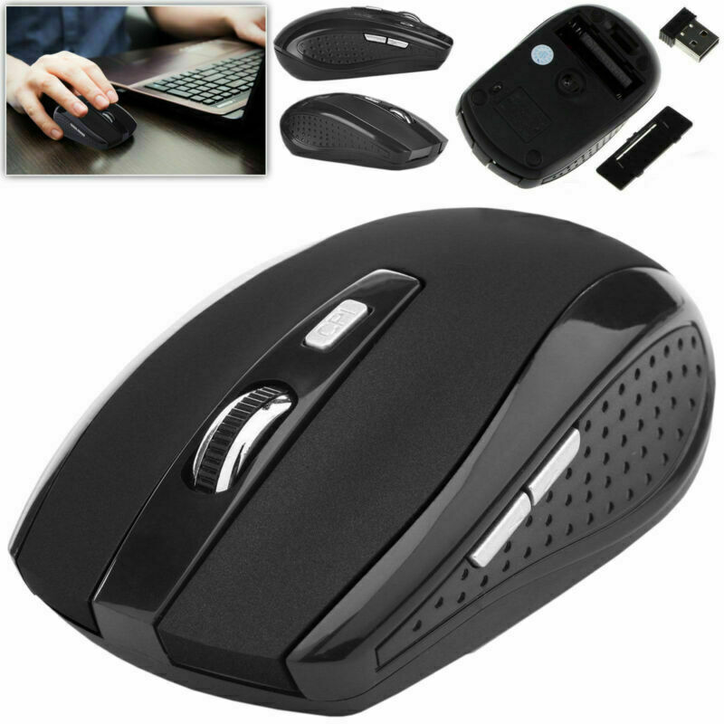 2.4GHz Wireless Optical Mouse Mice & USB Receiver For PC Laptop Computer DPI USA Computers/Tablets & Networking