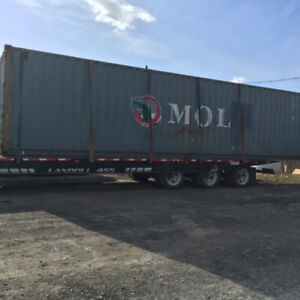 Storage and Shipping Containers on sale - 20' and 40' long