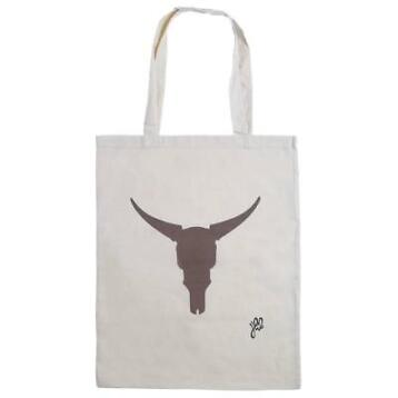 Hippe katoenen shopper buffalo